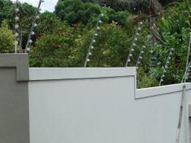 Wall Top Electric Fencing